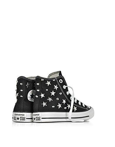 Converse Hi Top Sneakers Donna 156913C Canapa Nero