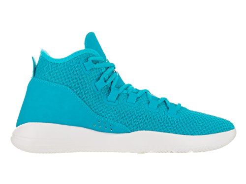 Nike Jordan Mens Jordan Reveal Blue Lagoon/Grn Glow/Pr Pltnm Basketball Shoe 10.5 Men US mnATAyjgN