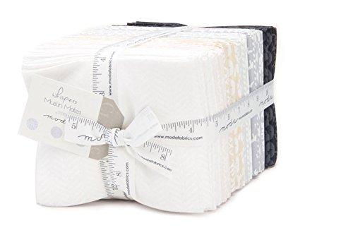 Whispers Muslin Mates 40 Fat Quarter Bundle Moda Fabrics (Moda Muslin Mates)