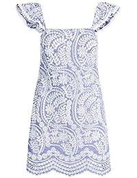Alice + Olivia Women's Honor Flutter Sleeve Tunic Dress