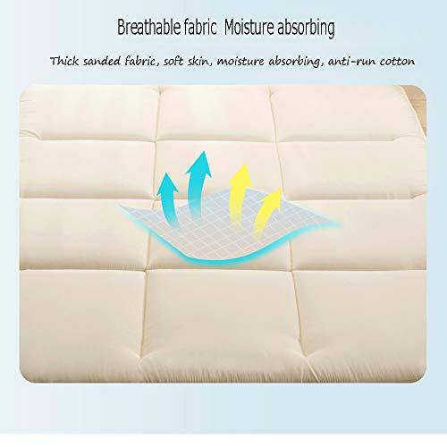 Cepillado colchones más Gruesos,Se Puede Plegar Lavado a máquina Tatami colchón,Conveniente para la meditación de Yoga 1.5m1.8m: Amazon.es: Hogar