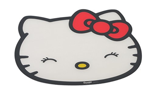 Hello Kitty Futternapf-Matte, weiß