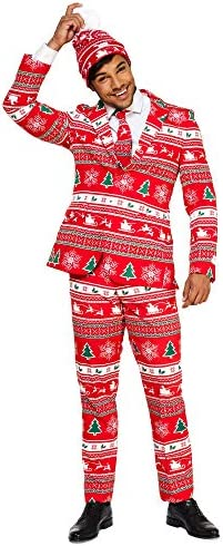OppoSuits Christmas Suits Different Prints