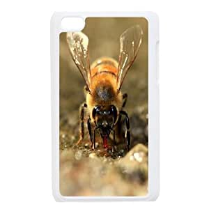 Best Quality [LILYALEX PHONE CASE] Honey Bee Pattern FOR IPod Touch 4th CASE-2