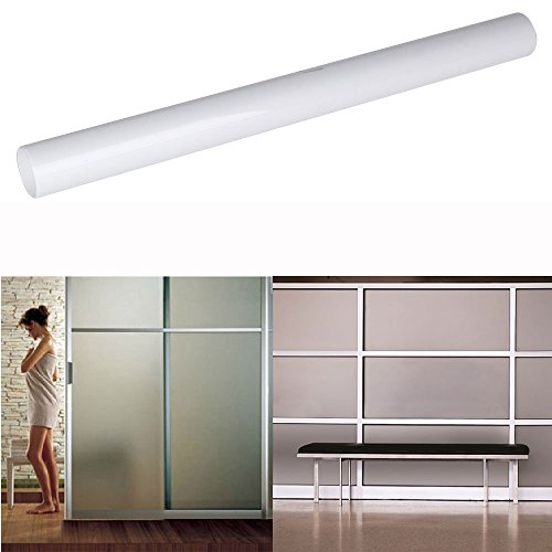 Pyrsun(TM) Decorative Films Frosted White Window Film Household Insulation Privacy Glass Membrane 50 300cm by Pyrsun