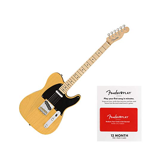 inal '50s Telecaster Electric Guitar Butterscotch Blonde ()