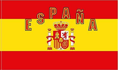 Durabol Bandera ESPAÑA Banderas de los fanáticos 150x90cm Copa del ...