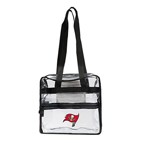 (The Northwest Company NFL Tampa Bay Buccaneers Zone Stadium Friendly Tote Clear Zone Stadium Friendly Tote, Clear, One Size)