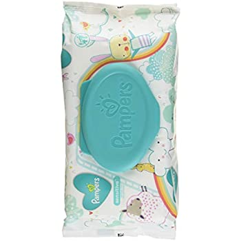 Amazon Com Baby Wipes Pampers Sensitive Water Baby