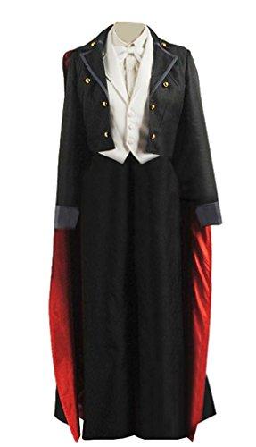 Tuxedo Mask Costume Cape (Sailor Cosplay Moon Mamoru Chiba Costume Tuxedo Halloween Outfit Custom Made XL)
