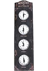 Ministry of Silly Walks World Clock by DollTV (Monty Python)