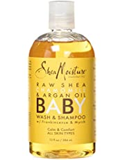 Shea Moisture Raw Shea Chamomile and Argan Oil Baby Body Wash, 13 fl.oz./384ml