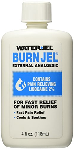 Water Jel Burn Jel, For Fast Relief of Minor Burns 4 fl oz (118 ml) by Water Jel
