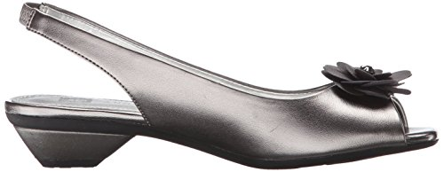 Anne Klein Women's Lesta Wedge Pump Pewter sale low price fee shipping free shipping shop for free shipping new arrival D0pin