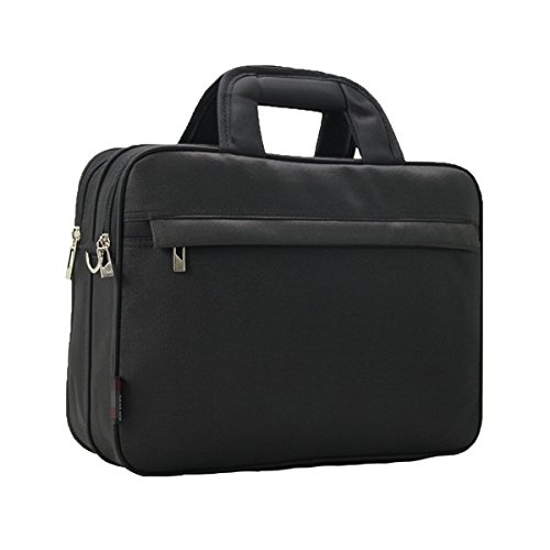 Black High Handcarry Oxford Capacity 1 Business File Unisex Casual Bag Cloth Pack xYwqzYd54I