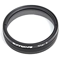 Drone Fans 1pc Star Filter Night Filter 8-point 8X Lens Filter for DJI Phantom 3 and Phantom 4
