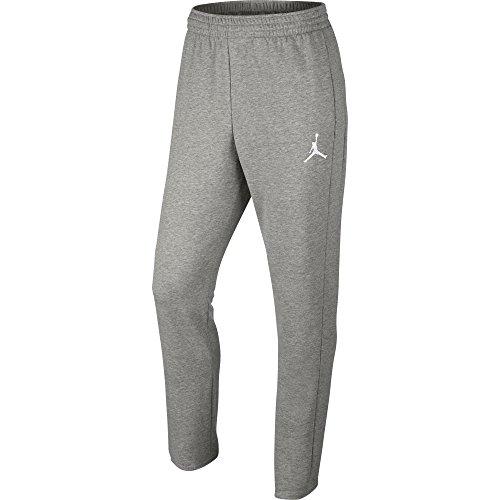 Jordan Flight Lite Mens Sweatpants Grey/White 724500-064 (Size XL)