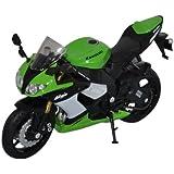 Welly - 1/18 Kawasaki Ninja Zx-10R Motorcycle For Kids - Green