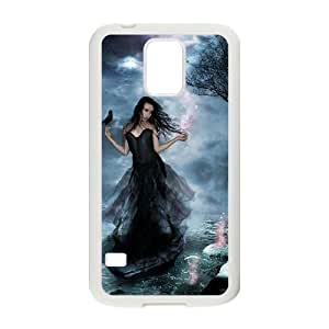 lintao diy Case Of Night Fairy Customized Case For SamSung Galaxy S5 i9600 Kimberly Kurzendoerfer