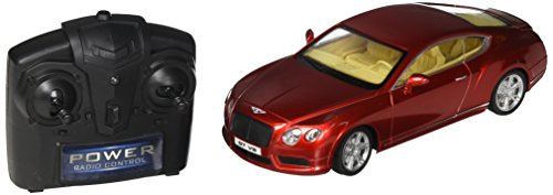 Braha Full Function Remote Control 1:24 Scale - Red Bentley Continental GT, Red