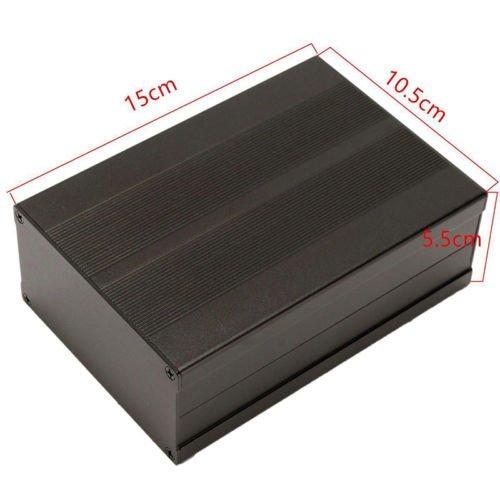 DIY Enclosure Case Aluminum Box Circuit Board Project Electronic 15010555MM