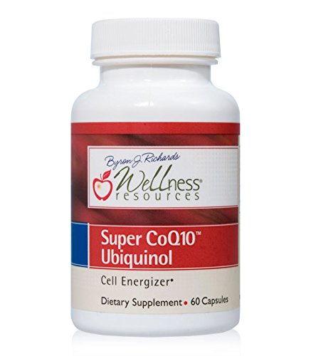 QH Ubiquinol - CoQH-CF® Patented Stable and Crystal-Free and Soy-Free Form (100mg, 60 Capsules) ()