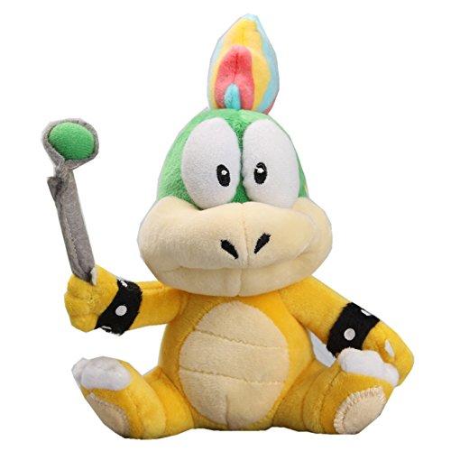 UiUoU Lemmy Koopa Plush 8'' Super Mario Bros. Doll Toy (Plush 8' Doll Anime)