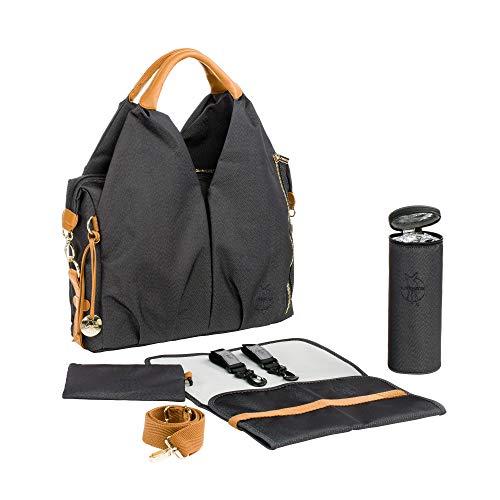 Lassig Green Label Neckline Bag, Denim Black ()