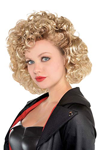 Suit Yourself Grease Sandy Olsson Greaser Wig for Adults, One Size, Just Like Sandy After Her Greaser -