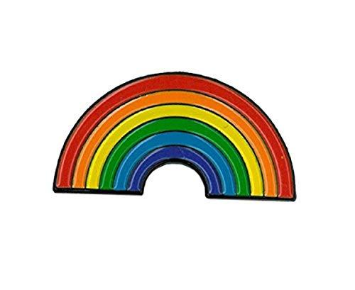 Matt Stewart, Rainbow, Officially Licensed Original Artwork, Expertly Designed ENAMEL PIN - 1.25