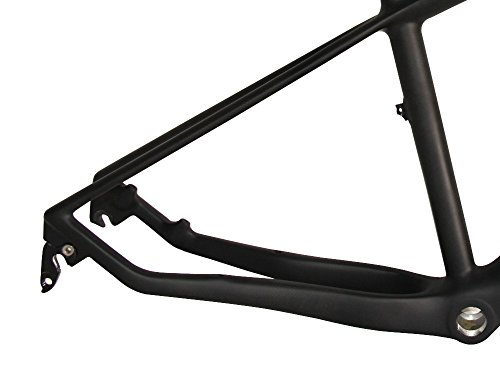 "FASTEAM 3K Carbon Hardtail Mountain Bikes Carbon Frame 29er BSA with 135*9mm 19"" in Size"