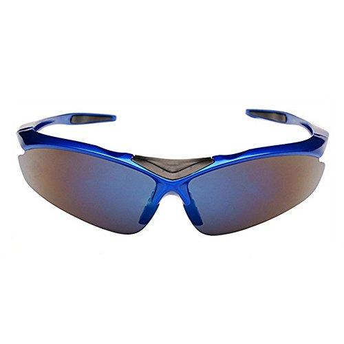 Soleil Bleu pour de Bleu Lunettes Couleur Air De Plein De Sports Lunettes Vélo en LBY Homme Lunettes Myopie De Soleil CqZtUHwWO