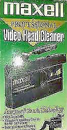 Maxell VCR Pro Head Cleaner (Wet Type) by Maxell