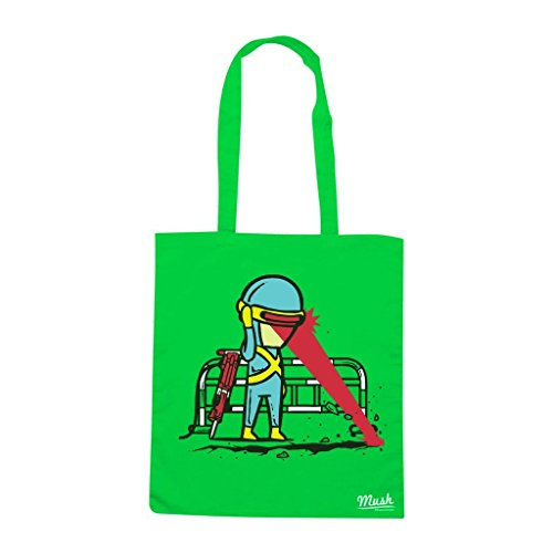 Borsa CICLOPE X-MAN - Verde prato - FILM by Mush Dress Your Style