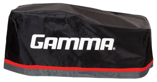 Protective Cover for Upright Stringing Machine: Gamma Sports Black & Red Cover for Tennis & Badminton Racquet Stringer Machines - Fits 700Es, 6004, 6002Es, 6002, 5003, 5002, Progression & X-Series - Gamma 5003 Stringing Machine