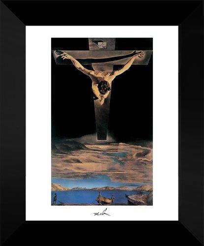 Christ Of St. John Of The Cross 15x18 Framed Art Print by Salvador Dali (Dali Christ Of St John Of The Cross)