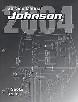 2004 johnson outboard 9 9 and 15 hp 4 stroke service manual 351 rh amazon com Mercury 9.9 Repair Manual Mercury 9.9 Repair Manual