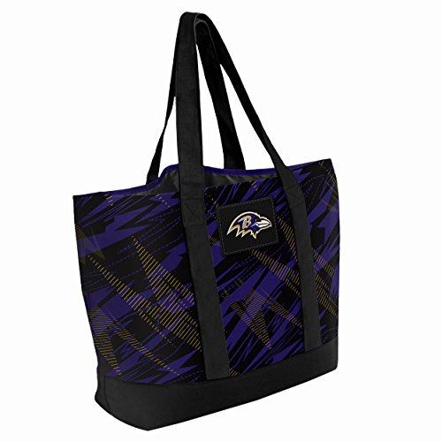 Baltimore Ravens Shatter Print Tote Bag
