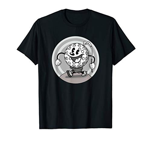 Vintage cartoon style Golfball T-Shirt