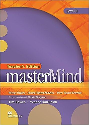 Teachers english book use mastermind