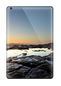 Faddish Phone Sunset At Lighthouse Rocky Beach Ocean Sundown Light Tower Nature Other Case For Ipad Mini/mini 2 / Perfect Case Cover