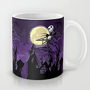 Travailler Ouliyou Ciel Humoristique Mug Halloween Pour Violet 5AR4qL3jcS