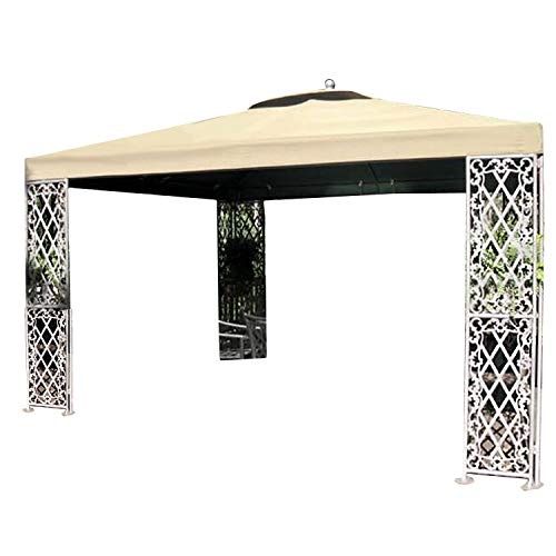 (Garden Winds 12 x 12 Lattice Gazebo Replacement Canopy - RipLock 500)