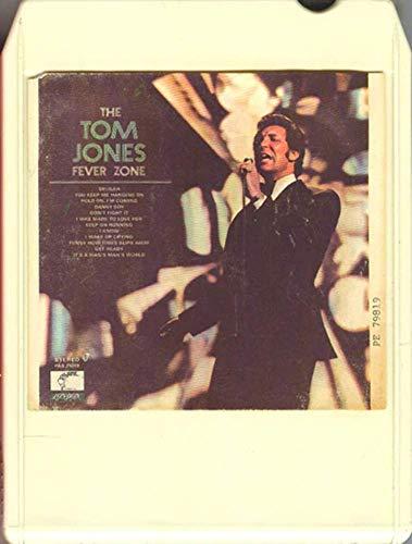 Tom Jones: The Tom Jones Fever Zone -33781 8 Track Tape (Tom Jones The Tom Jones Fever Zone)