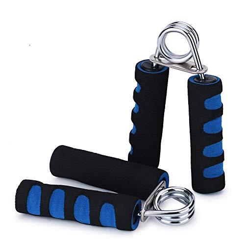 - Lanshanchu 2 Pack Hand Grip Strengthener for Teenagers Elderly, Soft Foam Hand Wrist Power Grip Strength Training Fitness Grips Gym Exerciser Gripper (Blue)