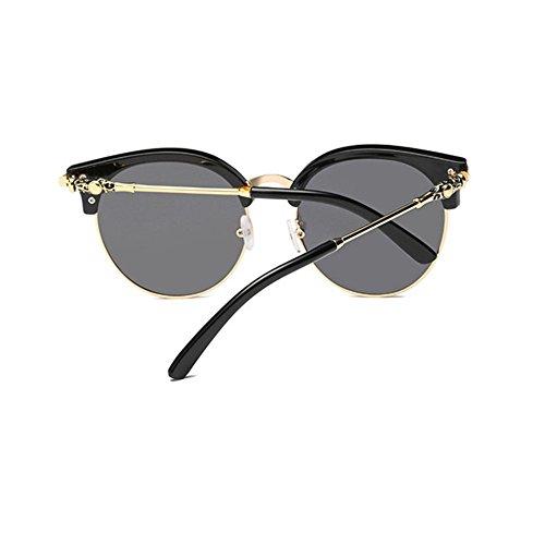 Aoligei Lunettes de soleil polarisées mâle et femelle couleur lumineuse retro lunettes de soleil tendance iGzcn
