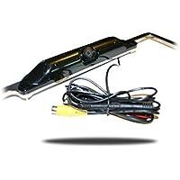 Tadibrothers 120 Degree Black License Plate Frame HD Backup Camera Hi-Res CCD