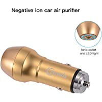New Car Air Purifier,Car Air Freshener Ionizer,Air cleaner-remove and cleans Dust,Pollen,Smoke , Bad Smell and Odors,pet smell,Food smell-Available for 12V enjoy a refreshing breath