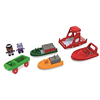 AQUAPLAY 8700000261 Boat Pack with 2 Figures, Multicolor