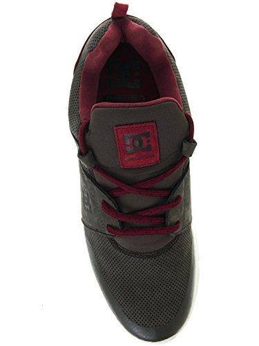 DC ShoesHeathrow Presti M - Sneaker Uomo Grey/Red